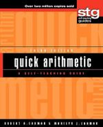 Quick Arithmetic : A Self-teaching Guide, 3rd Edition - Robert A. Carman
