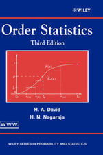 Order Statistics : Wiley Series in Probability and Statistics - Herbert A. David