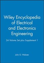 Encyclopedia of Electrical and Electronics Engineering : WITH Supplement 1