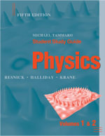 Physics : Student Study Guide to Accompany Volumes One and Two of Physics, 5r.ed - Robert Resnick