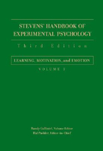Stevens' Handbook of Experimental Psychology : Learning, Motivation, and Emotion v. 3