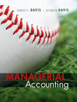 Managerial Accounting - Charles E. Davis