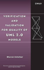 Verification and Validation for Quality of UML 2.0 Models : Wiley Series in Systems Engineering and Management - Bhuvan Unhelkar