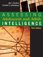 Assessing Adolescent and Adult Intelligence - Alan S. Kaufman