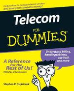Telecom For Dummies - Stephen P. Olejniczak