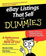 eBaeBay Listings That Sell For Dummies : For Dummies - Marsha Collier
