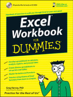 Excel Workbook For Dummies : For Dummies - Greg Harvey