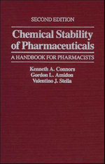 Chemical Stability of Pharmaceuticals : A Handbook for Pharmacists - Kenneth A. Connors