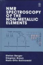NMR-Spectroscopy of Non-metallic Elements - Stefan Berger