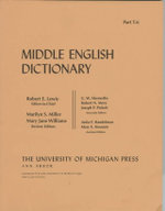 Middle English Dictionary : T.6