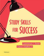 Study Skills for Success - Lawrence J. Zwier