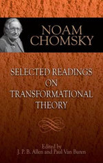 Selected Readings on Transformational Theory - Noam Chomsky