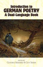 Introduction to German Poetry : A Dual-Language Book
