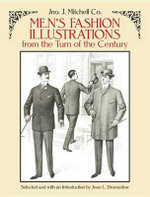 Men's Fashion Illustrations from the Turn of the Century - Mitchell Co.