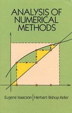 Analysis of Numerical Methods - Eugene Isaacson