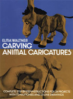 Carving Animal Caricatures - Elma Waltner