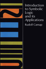 Introduction to Symbolic Logic and Its Applications - Rudolf Carnap