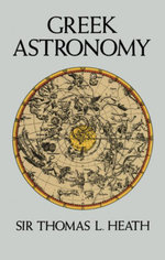 Greek Astronomy - Sir Thomas L. Heath
