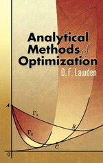 Analytical Methods of Optimization - D. F. Lawden