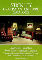 Stickley Craftsman Furniture Catalogs - Gustav Stickley
