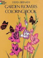 Garden Flowers Coloring Book : Color Your World - Stefen Bernath