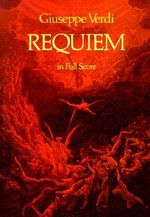 Requiem in Full Score : Dover Vocal Scores - Giuseppe Verdi