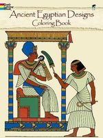 Ancient Egyptian Designs Coloring Book - Ed Sibbett