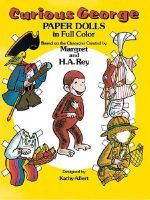 Curious George Paper Dolls in Full Colour - H. A. Rey