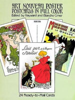 Art Nouveau Poster Postcards in Full Colour : 24 Ready-to-Mail Cards