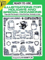 Ready-to-Use Illustrations for Holidays and Special Occasions - Ed Sibbett