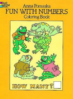 Fun with Numbers Coloring Book : Dover Coloring Books - Anna Pomaska