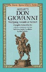 W.A. Mozart : Don Giovanni - Wolfgang Amadeus Mozart
