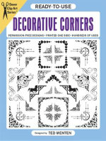 Ready-to-Use Decorative Corners : Dover Clip Art Ready-to-Use - Ted Menten