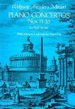 W.A. Mozart : Piano Concertos Nos. 11-16 - Wolfgang Amadeus Mozart