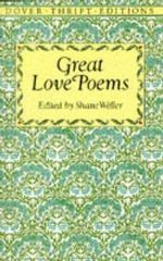 Great Love Poems : Dover Thrift Editions
