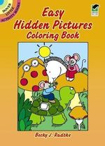Easy Hidden Pictures Coloring Book - Becky J. Radtke