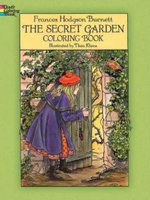 The Secret Garden Coloring Book : Colouring Book - Frances Hodgson Burnett