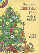 Decorate a Christmas Tree with 40 Stickers - Cathy Beylon