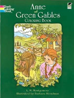 Anne of Green Gables Coloring Book - L. M. Montgomery