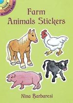 Farm Animals Stickers - Nina Barbaresi
