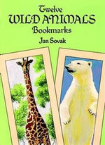 Twelve Wild Animal Bookmarks - Jan Sovak