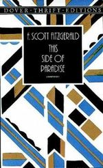 This Side of Paradise : Dover Thrift Editions - F. Scott Fitzgerald