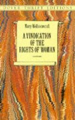 A Vindication of the Rights of Woman : Dover Thrift Editions - Mary Wollstonecraft