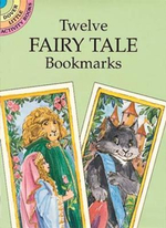 Twelve Fairy Tale Bookmarks - Carolyn Ewing