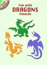 Fun with Dragons Stencils : Dover Stencils - Paul E. Kennedy