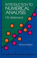 Introduction to Numerical Analysis : Second Edition - F. B. Hildebrand