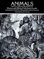 Animals : 1,419 Copyright-Free Illustrations of Mammals, Birds, Fish, Insects, etc