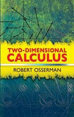 Two-Dimensional Calculus - Robert Osserman