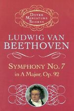 Beethoven : Symphony No.7 in A, Op.92 (Miniature Score) - Ludwig van Beethoven