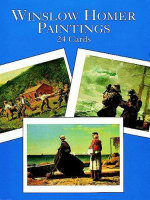 Winslow Homer Paintings : 24 Cards - Homer
